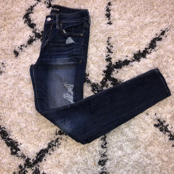 Size 2 Express Mid-Rise Legging Jeans